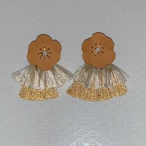 NWOB! Francesca's Floral Statement Earrings